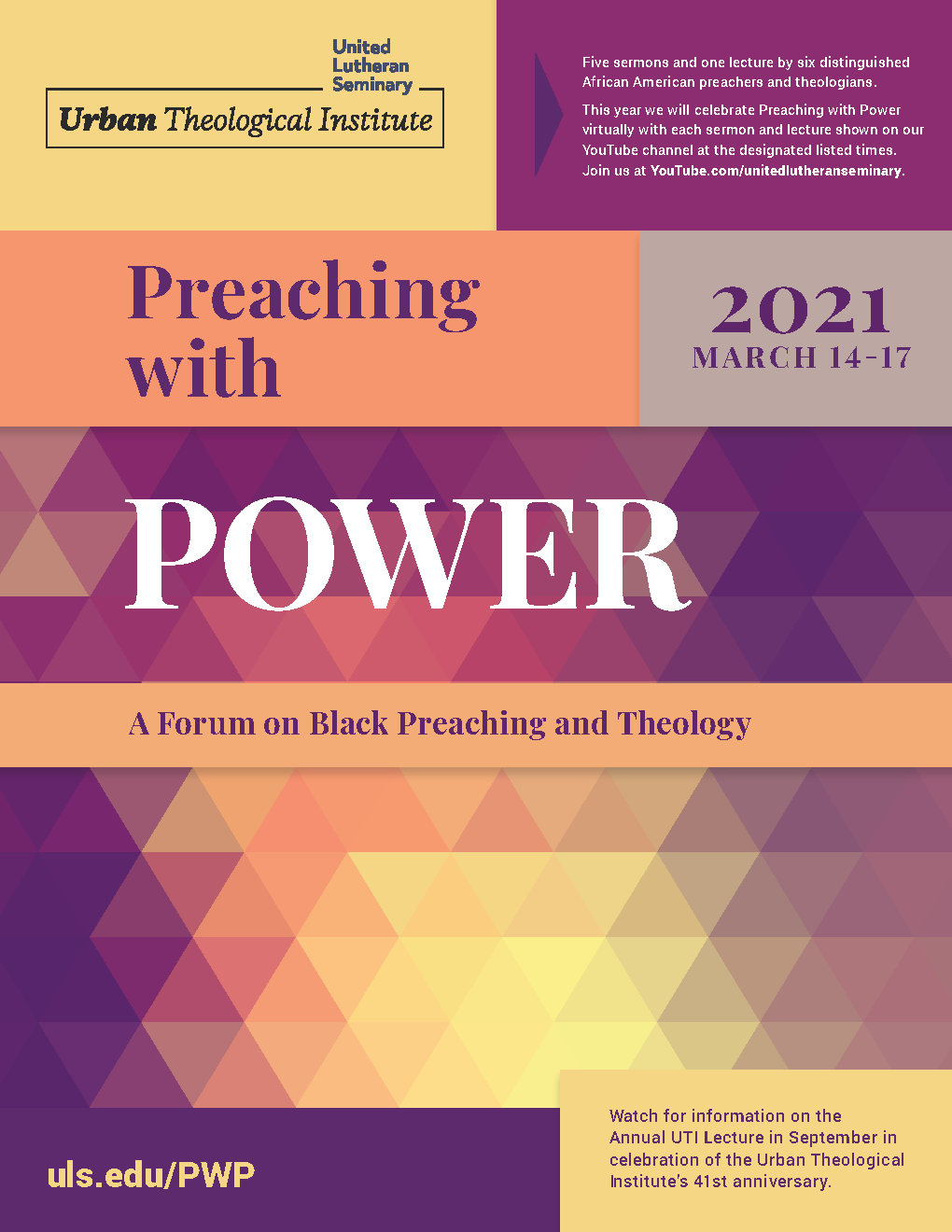 Preaching with Power 2021 cover